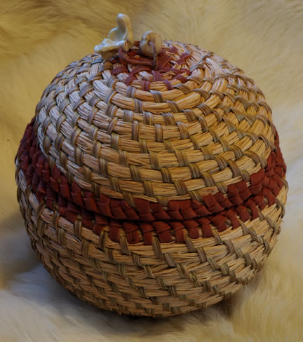 Medicine Basket by Joy Markgraf