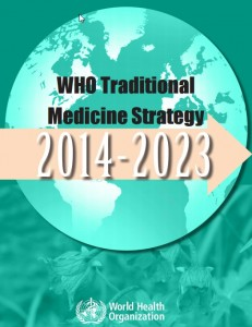 WHO Traditional Medicine Strategy Cover